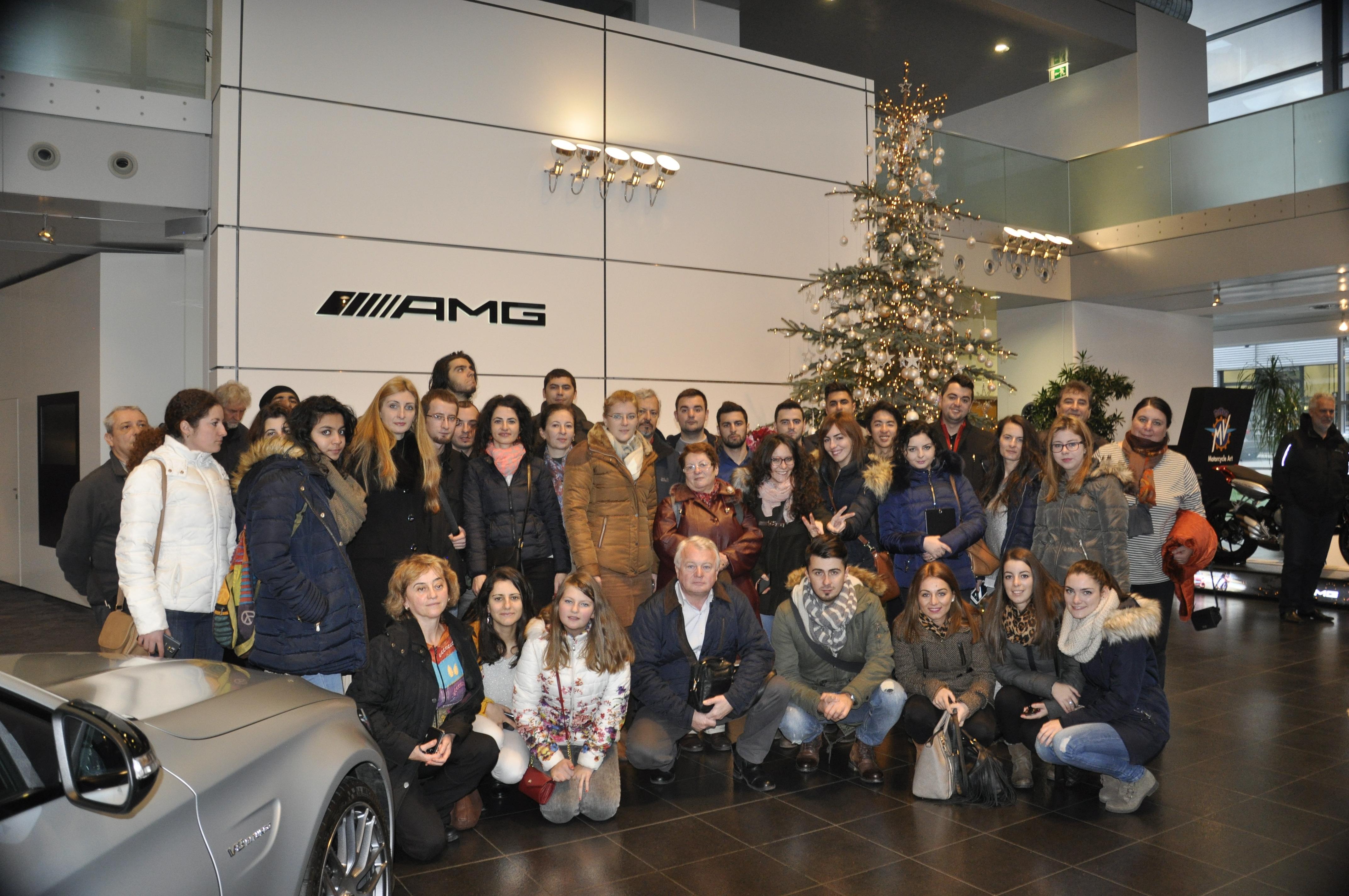 Fascinaţia Industriei Auto (2) Excursie De Studii