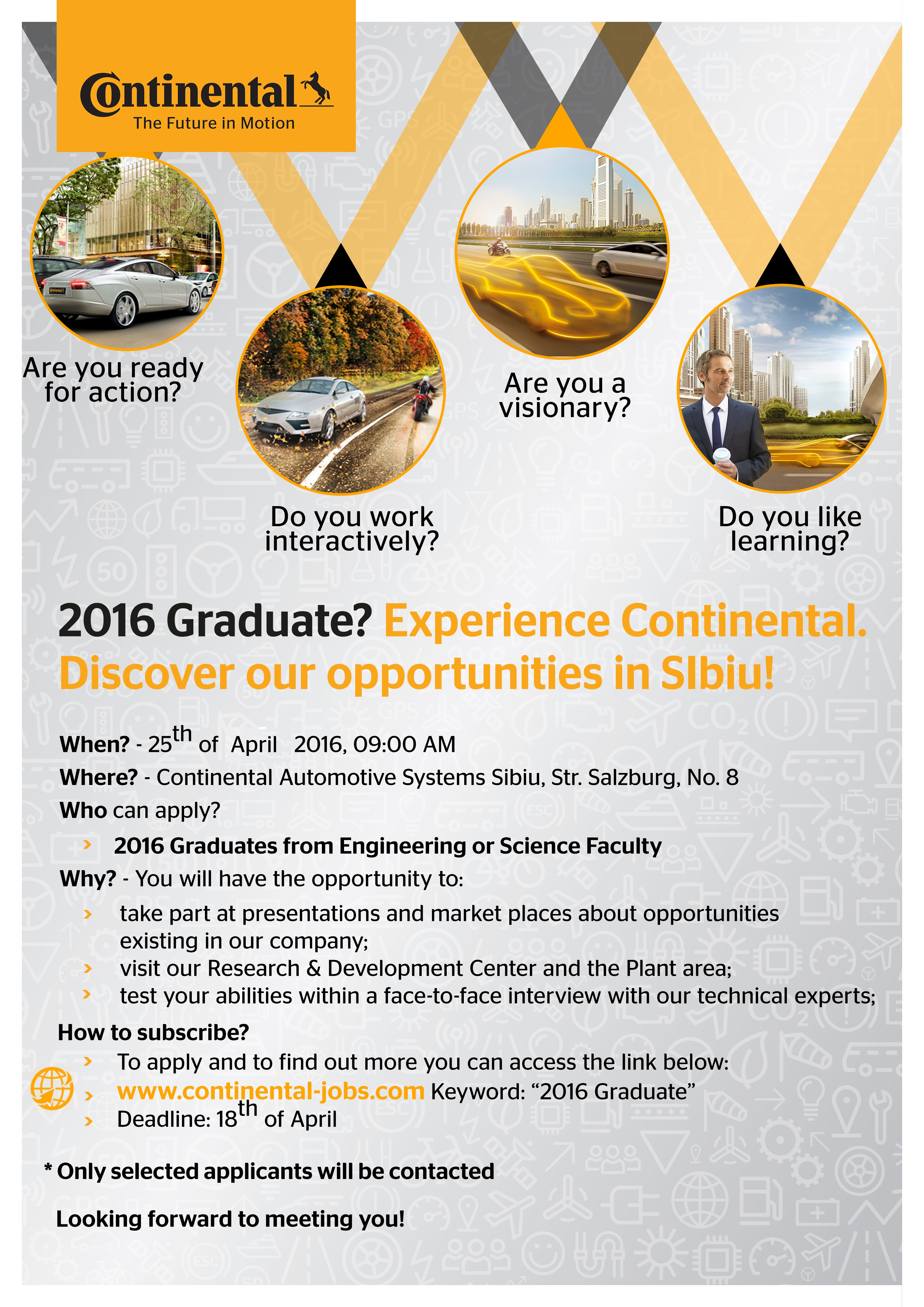 Recruitment Day @ Continental Sibiu