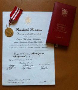 Stetiu Medalie