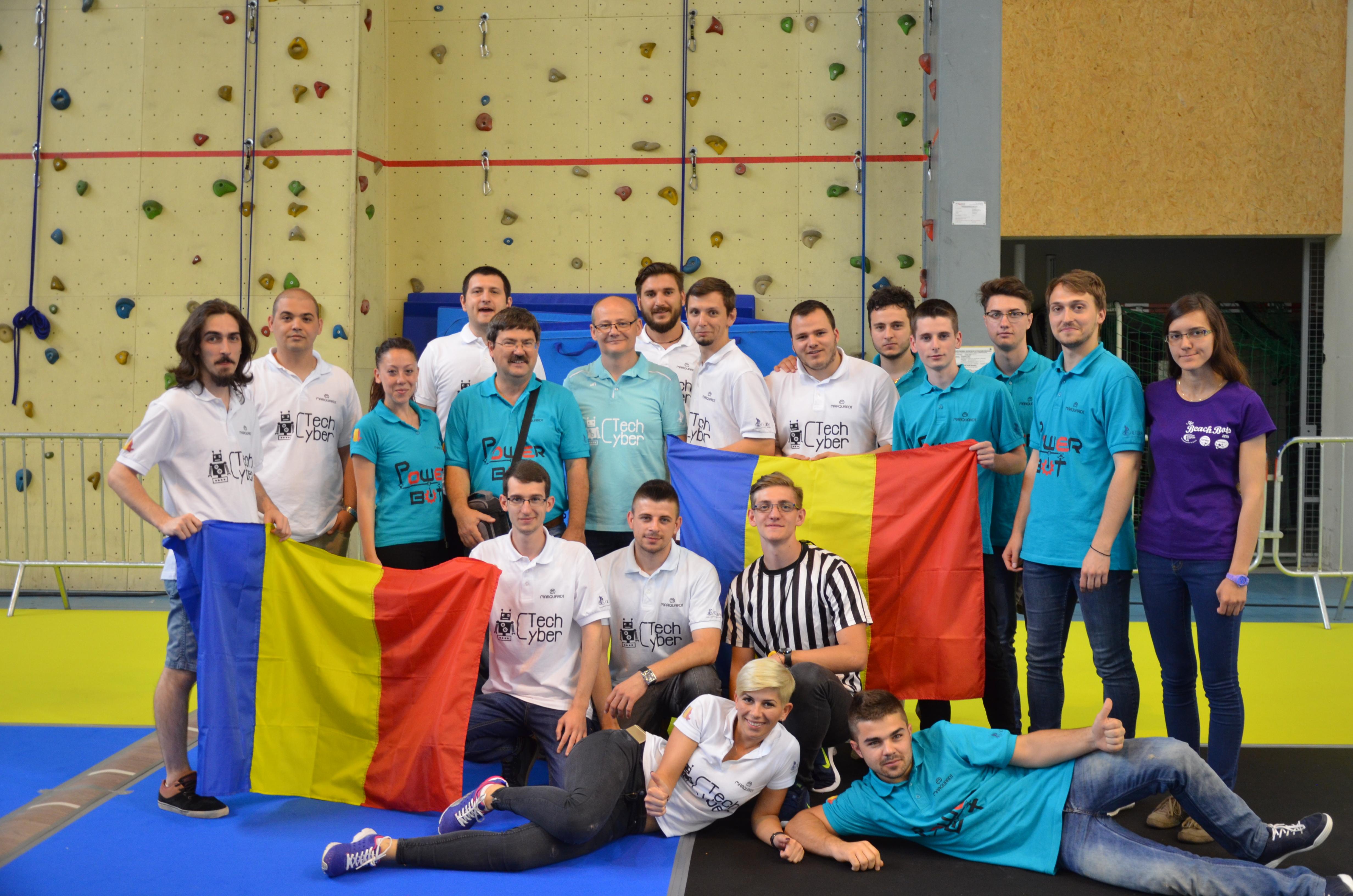 Concursul Internațional De Robotică EUROBOT 2016