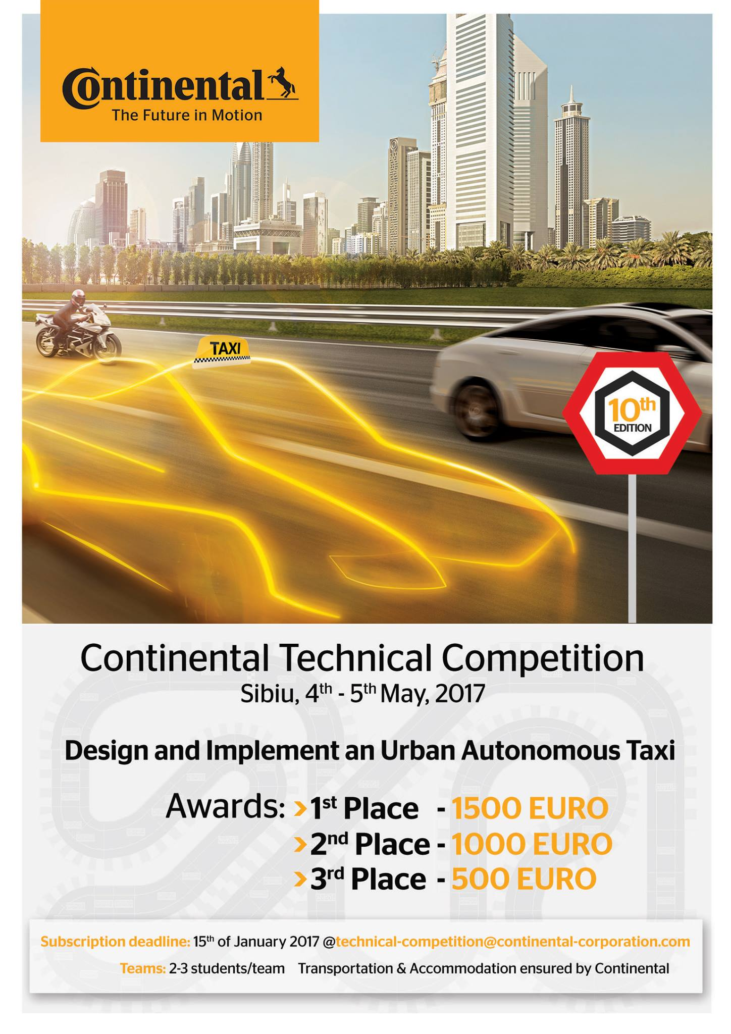 Continental Technical Competition 2017