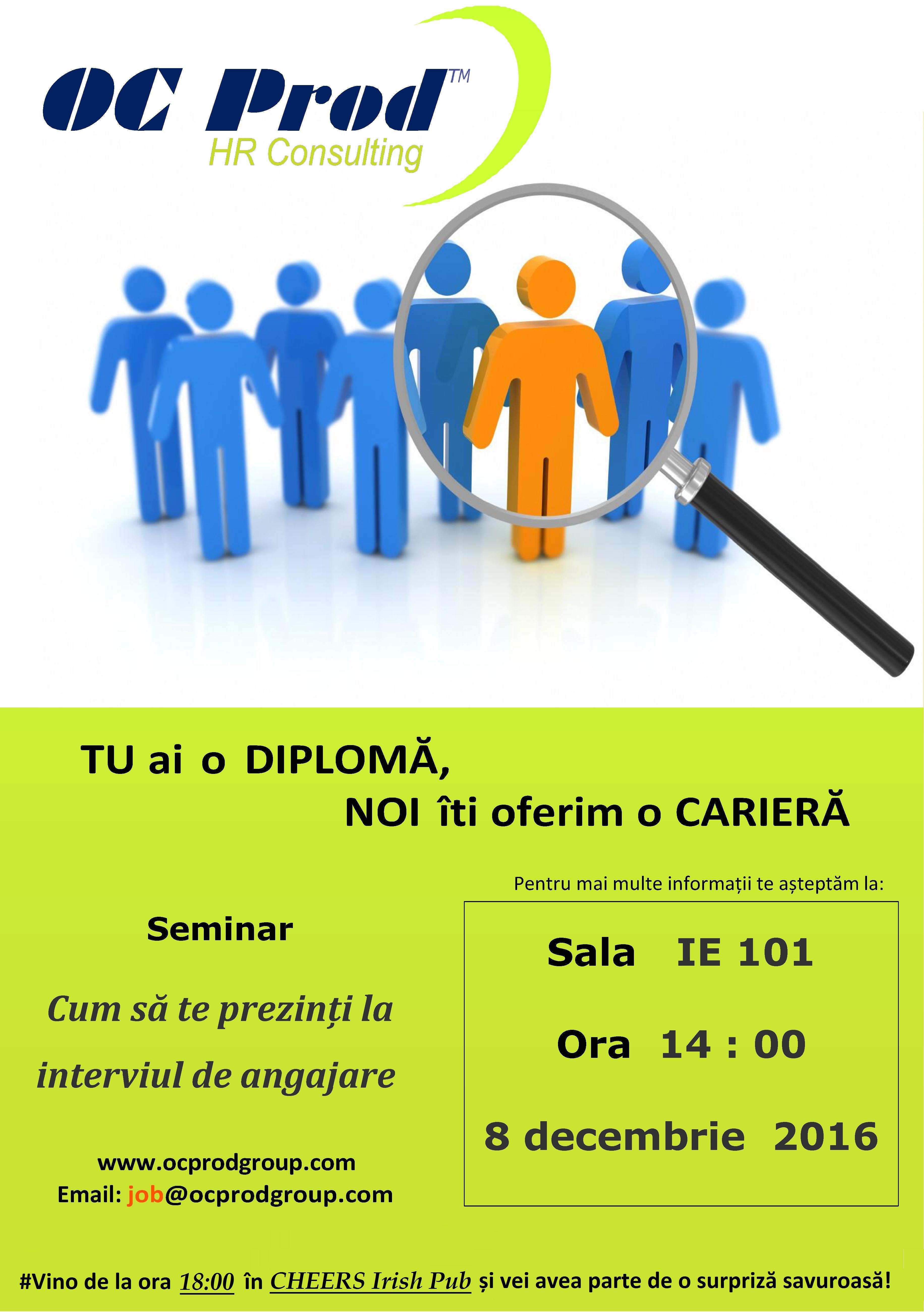 Afis Seminar Sibiu