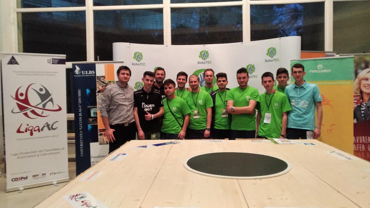 Concursul Internațional De Robotică RoboTEC – 2017