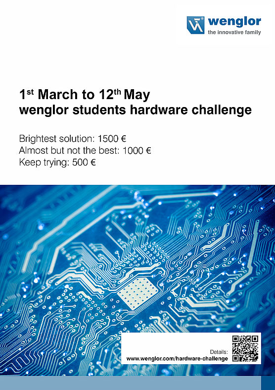 "Concurs ""wenglor Students Hardware Challenge 2017"""