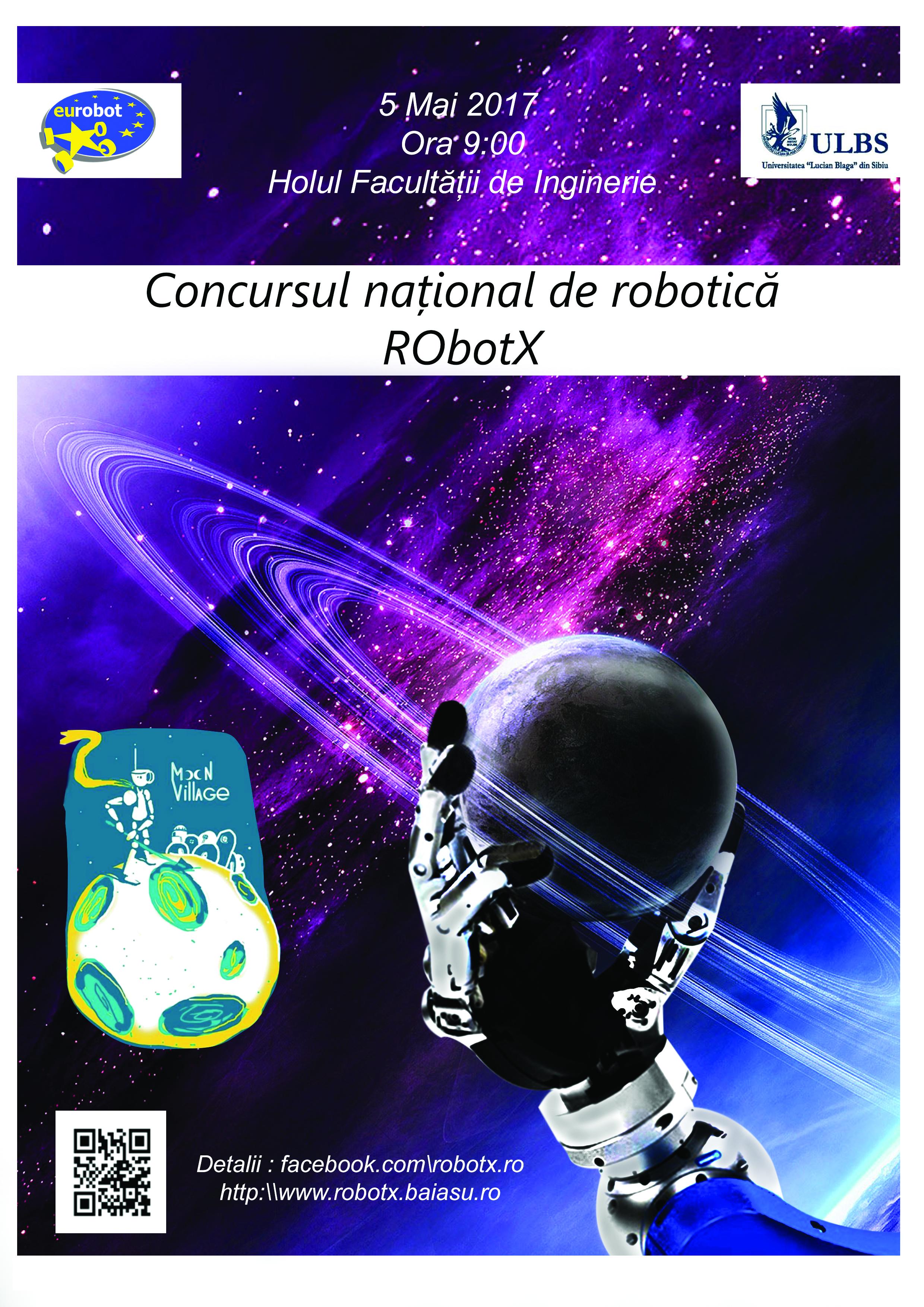 Concursul Național RObotX 2017