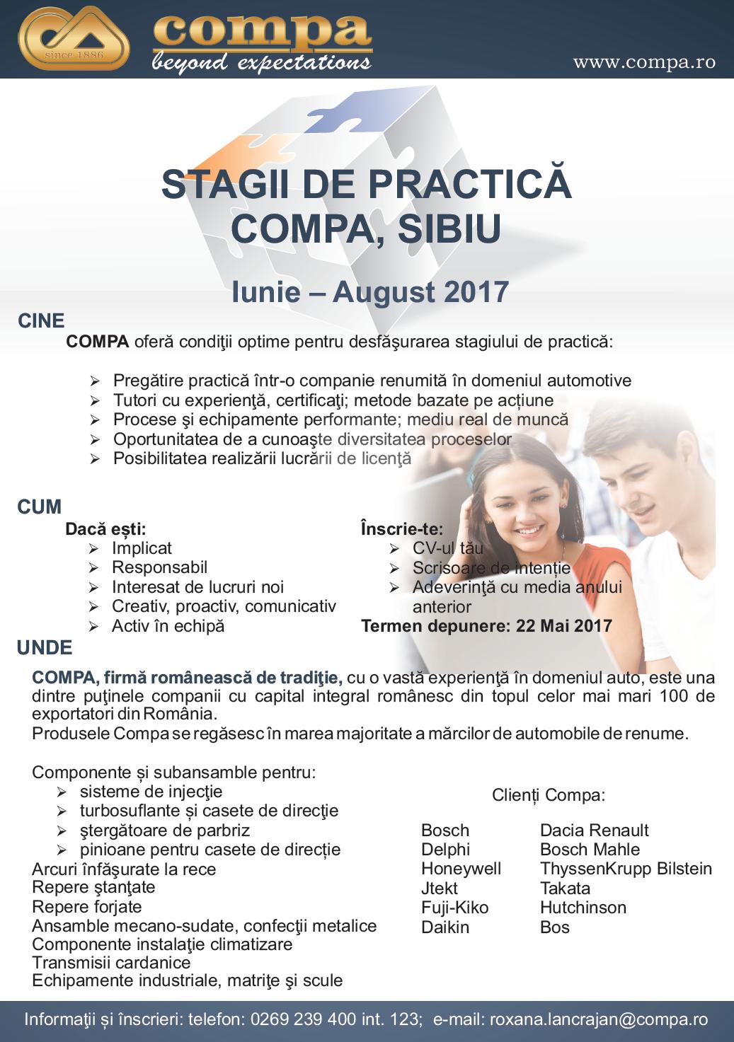 Practica De Vară – COMPA