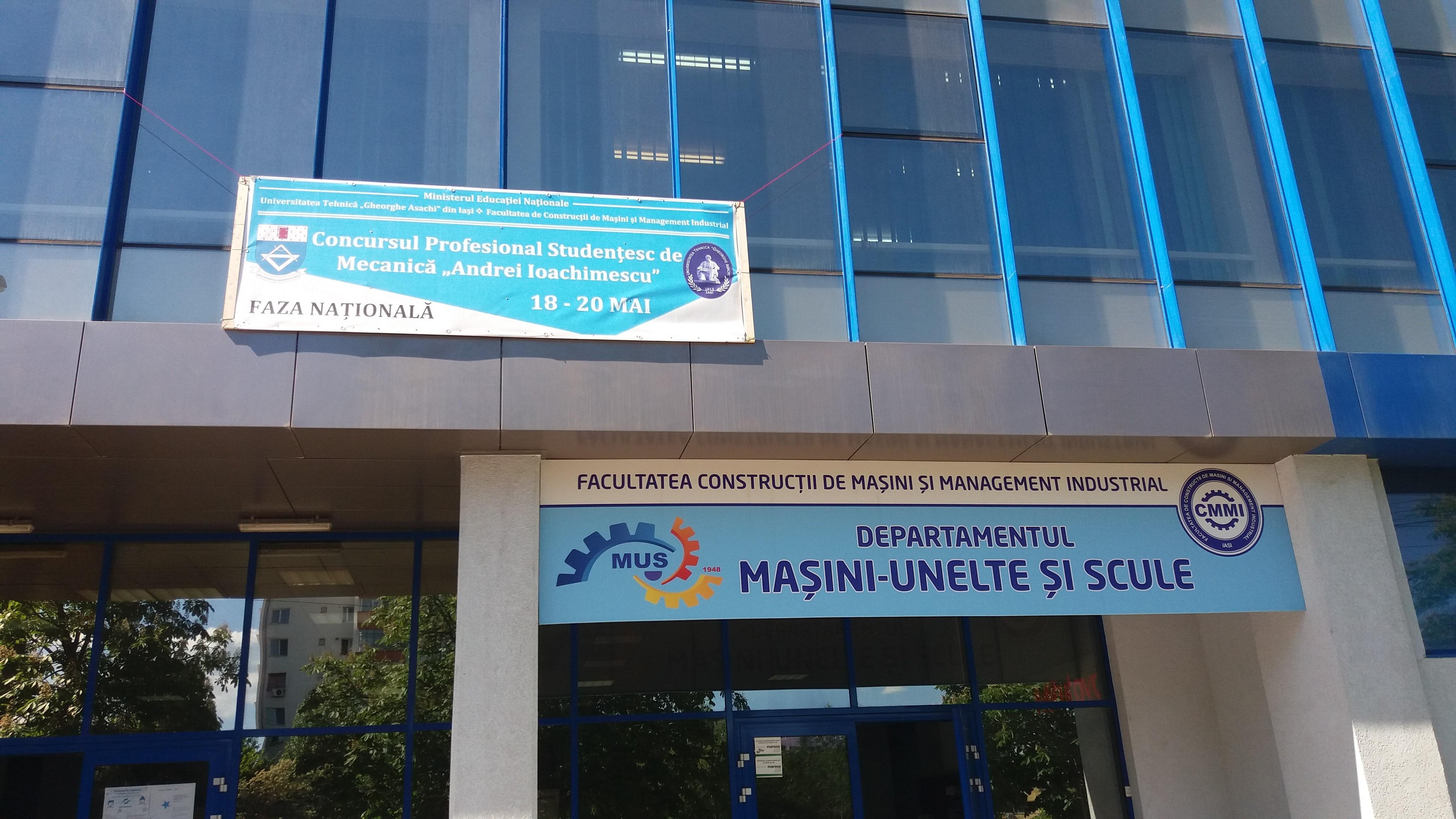 """ULBS La Concursul Național Studențesc De Mecanică """"Andrei Ioachimescu"""""""