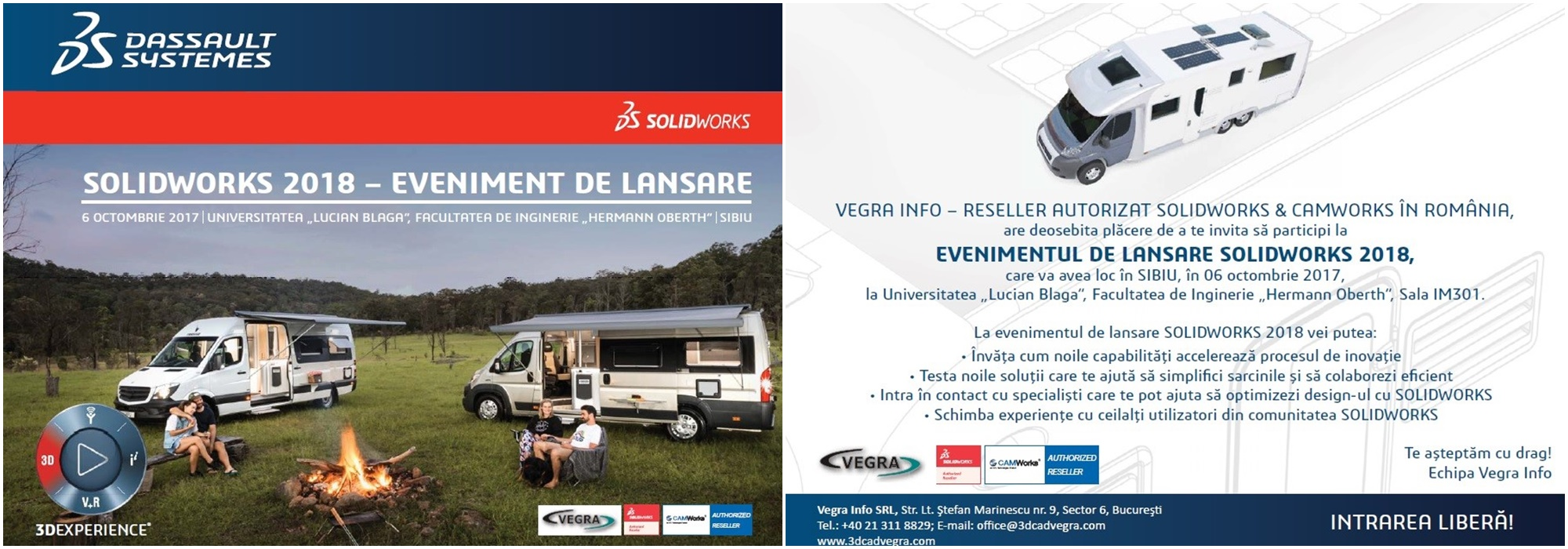 SOLIDWORKS 2018 – Eveniment Lansare