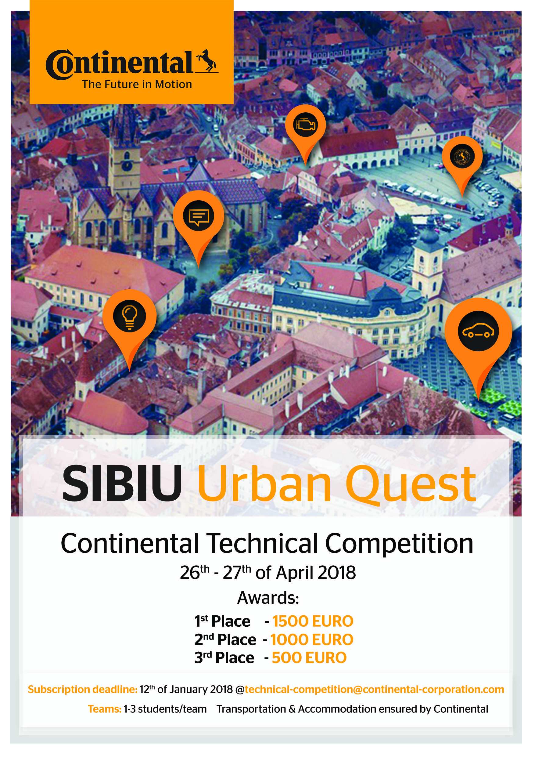 Continental Technical Competition – Sibiu Urban Quest 2018