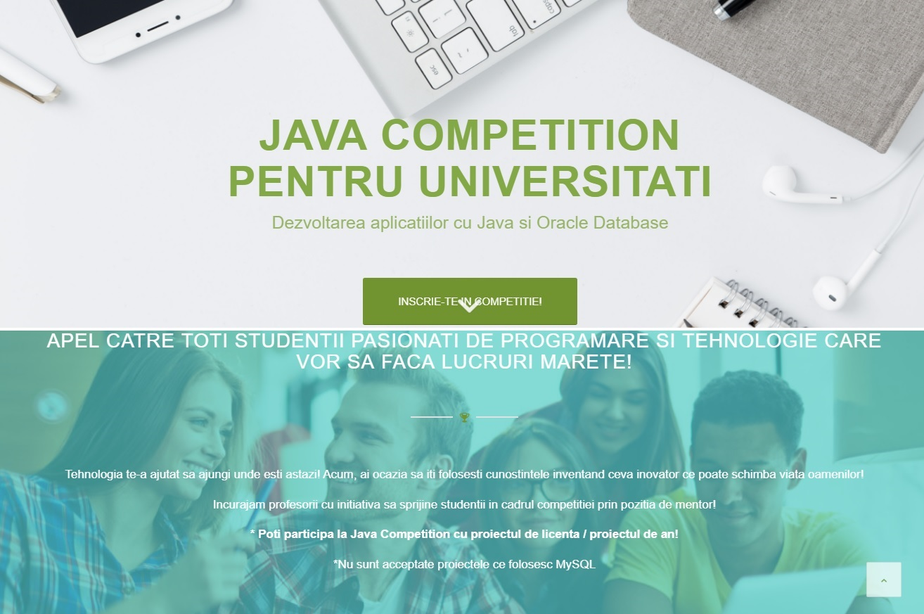 Java Competition Pentru Universități 2018
