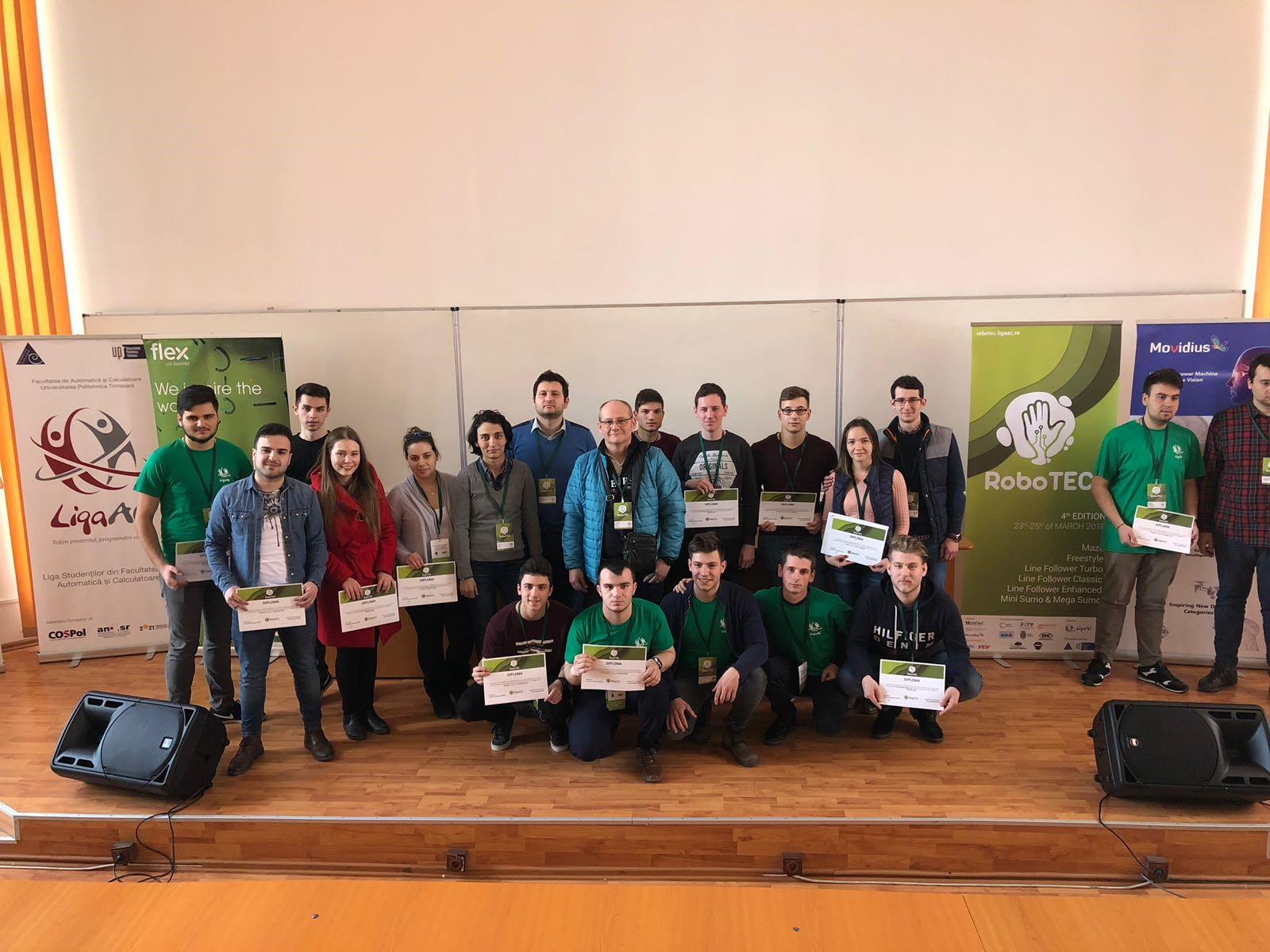 Concursul Internațional De Robotică RoboTEC – 2018