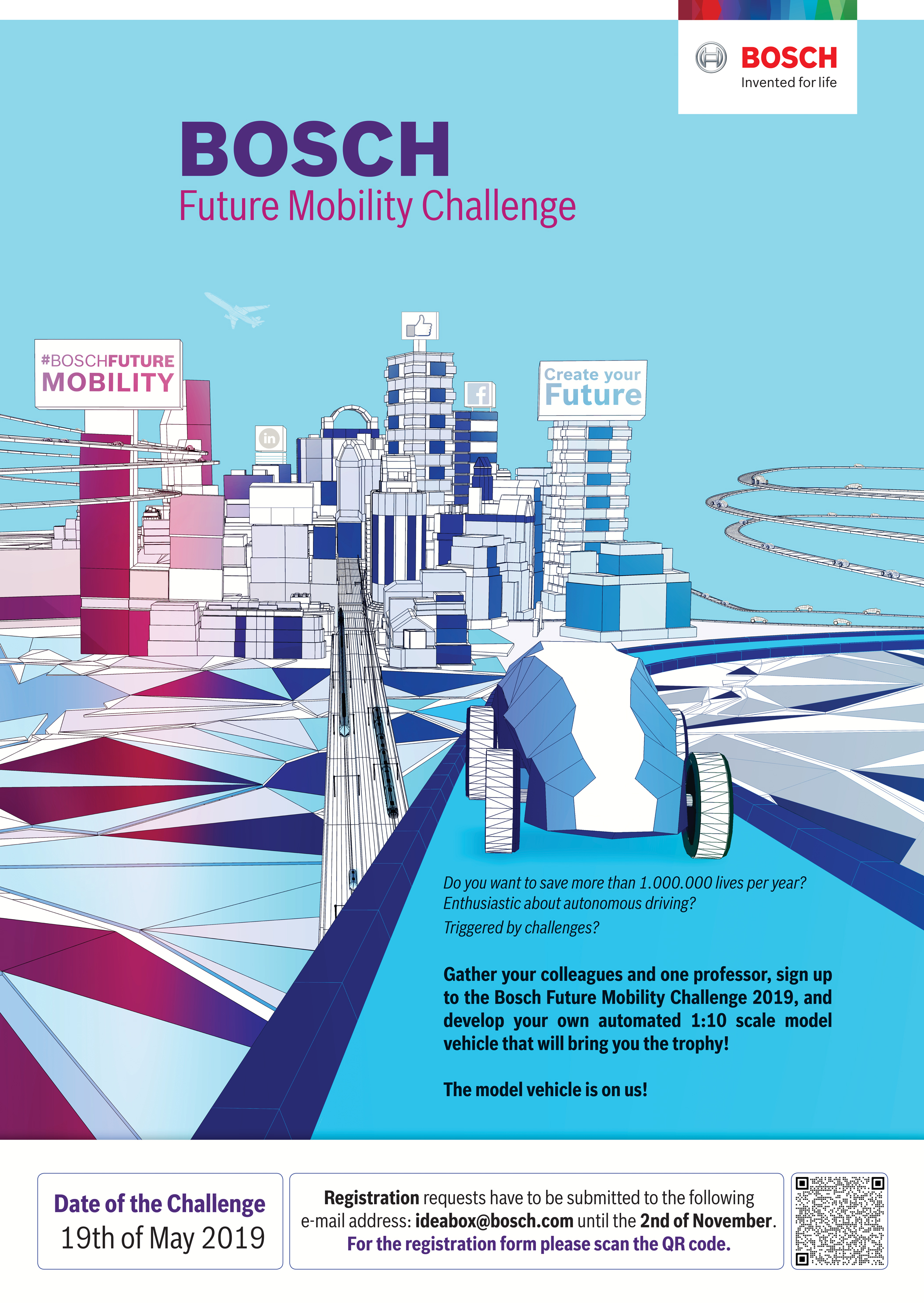 Bosch Future Mobility Challenge 2019