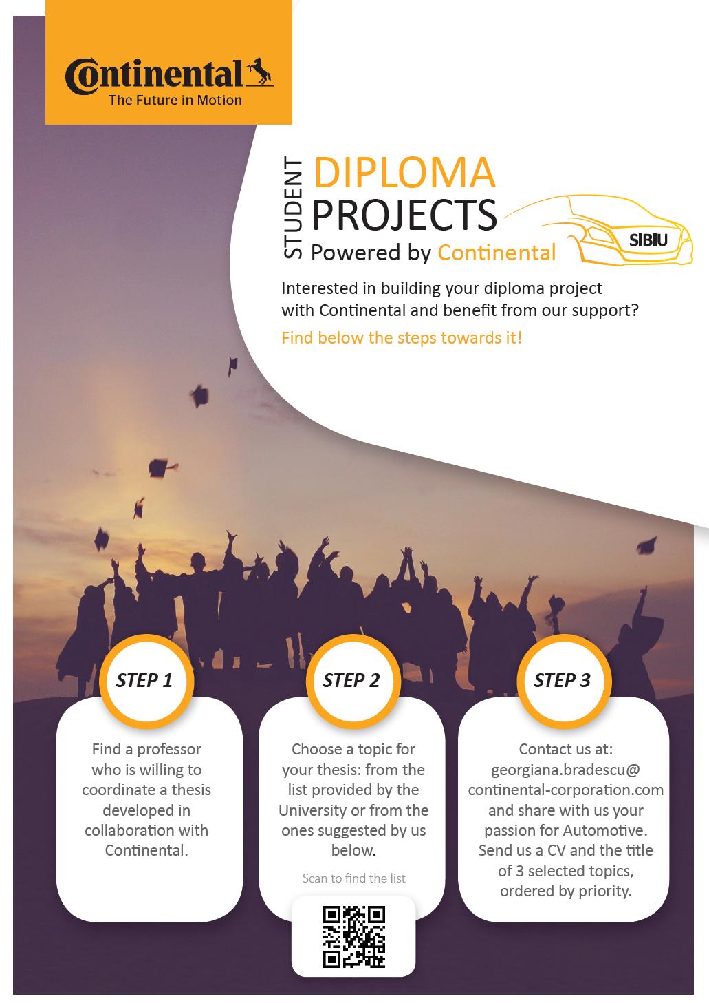 Proiecte De Diplomă în Colaborare Cu Continental Sibiu