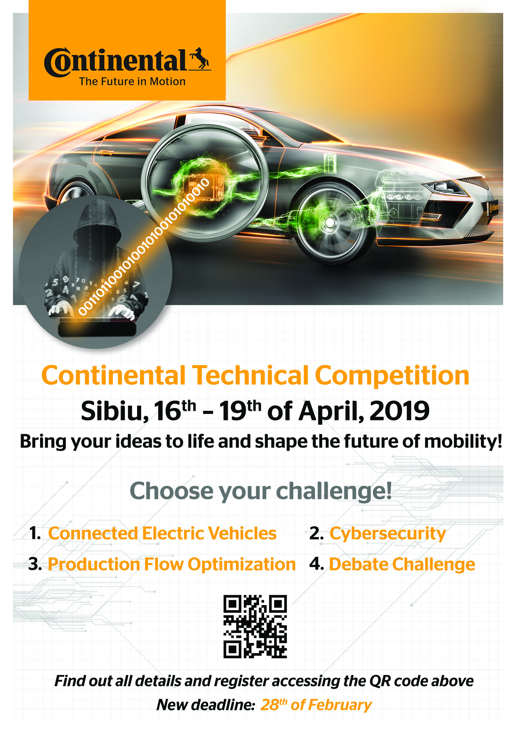 Poster NEW DL Conti Technical Competition