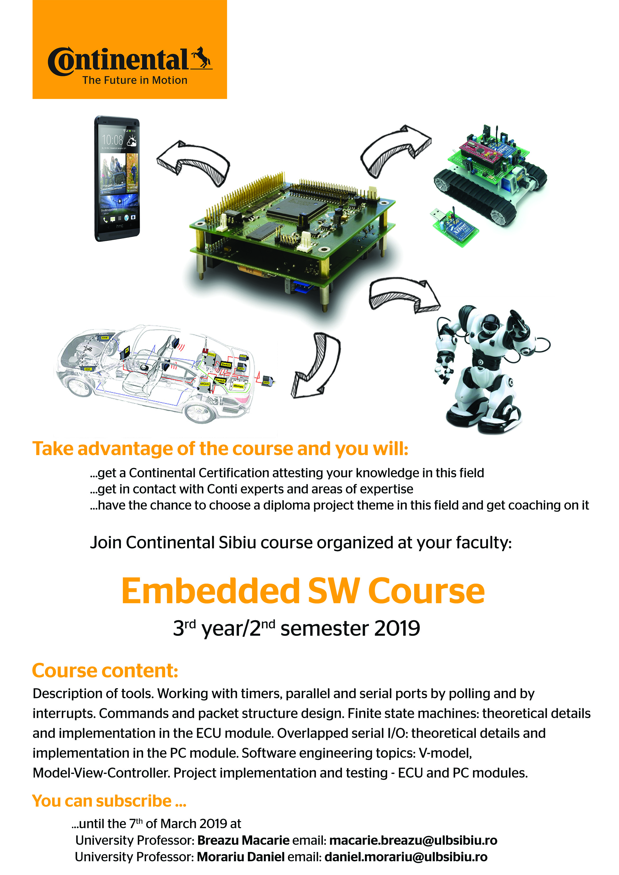 Curs Embedded Software – Continental Sibiu