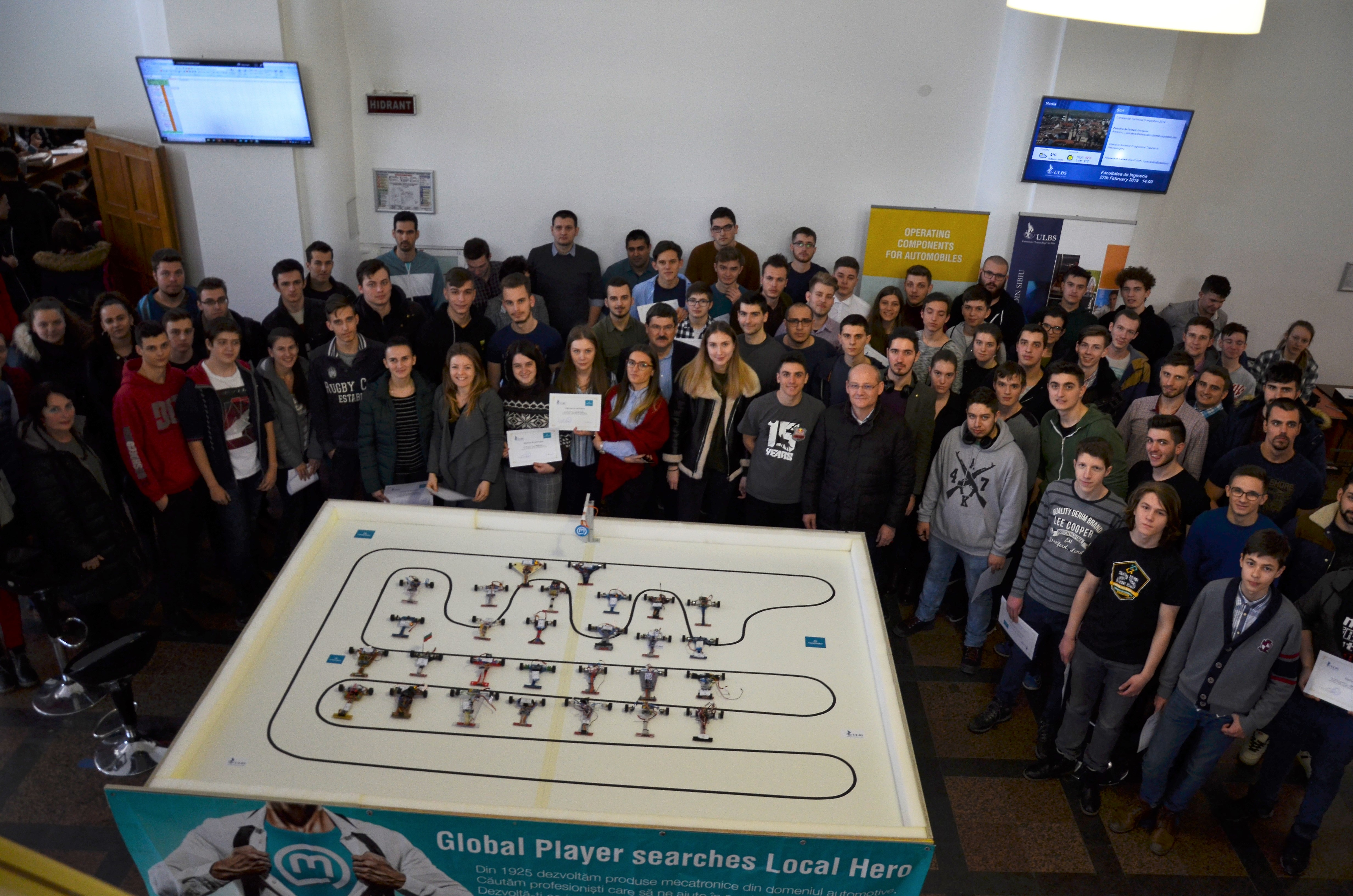 Rezultate Campionat De Roboți Mobili-powered By Marquardt