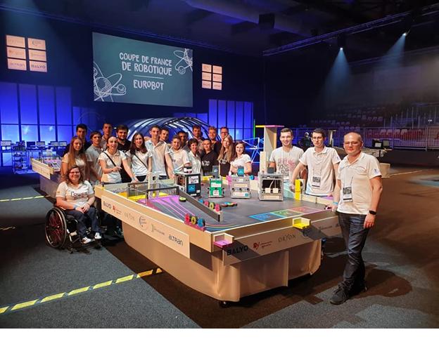 Campionatul European De Robotică EUROBOT 2019