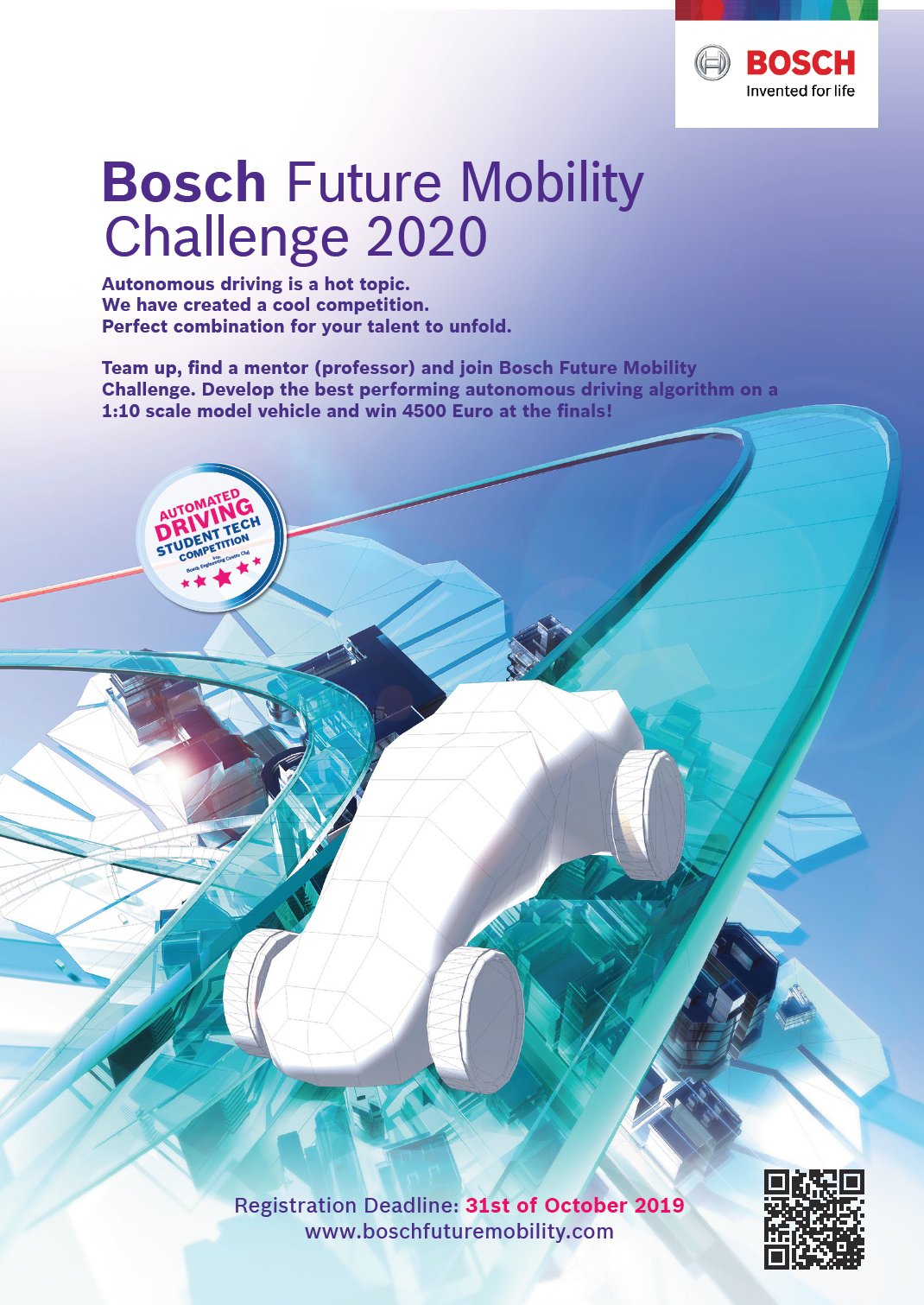 Bosch Future Mobility Challenge 2020