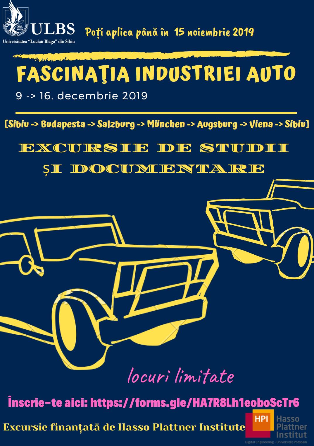 Fascinaţia Industriei Auto – Excursie De Studii și Documentare