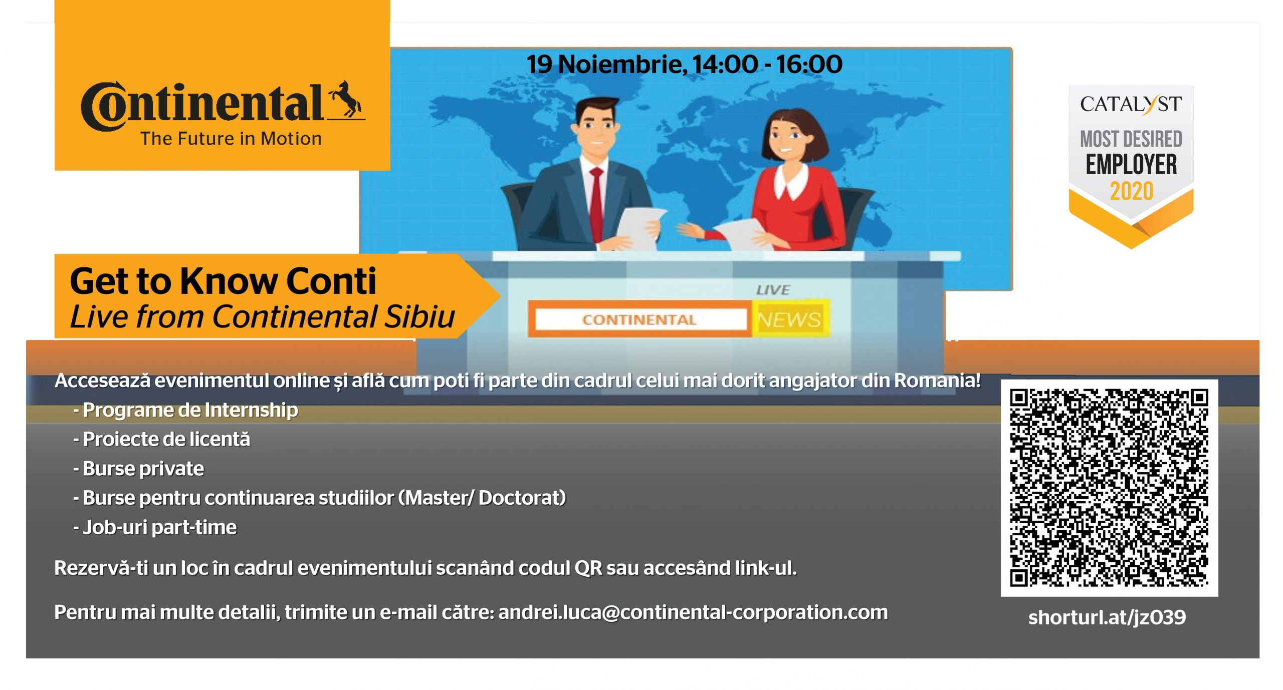 Get To Know Conti – Live From Continental Sibiu