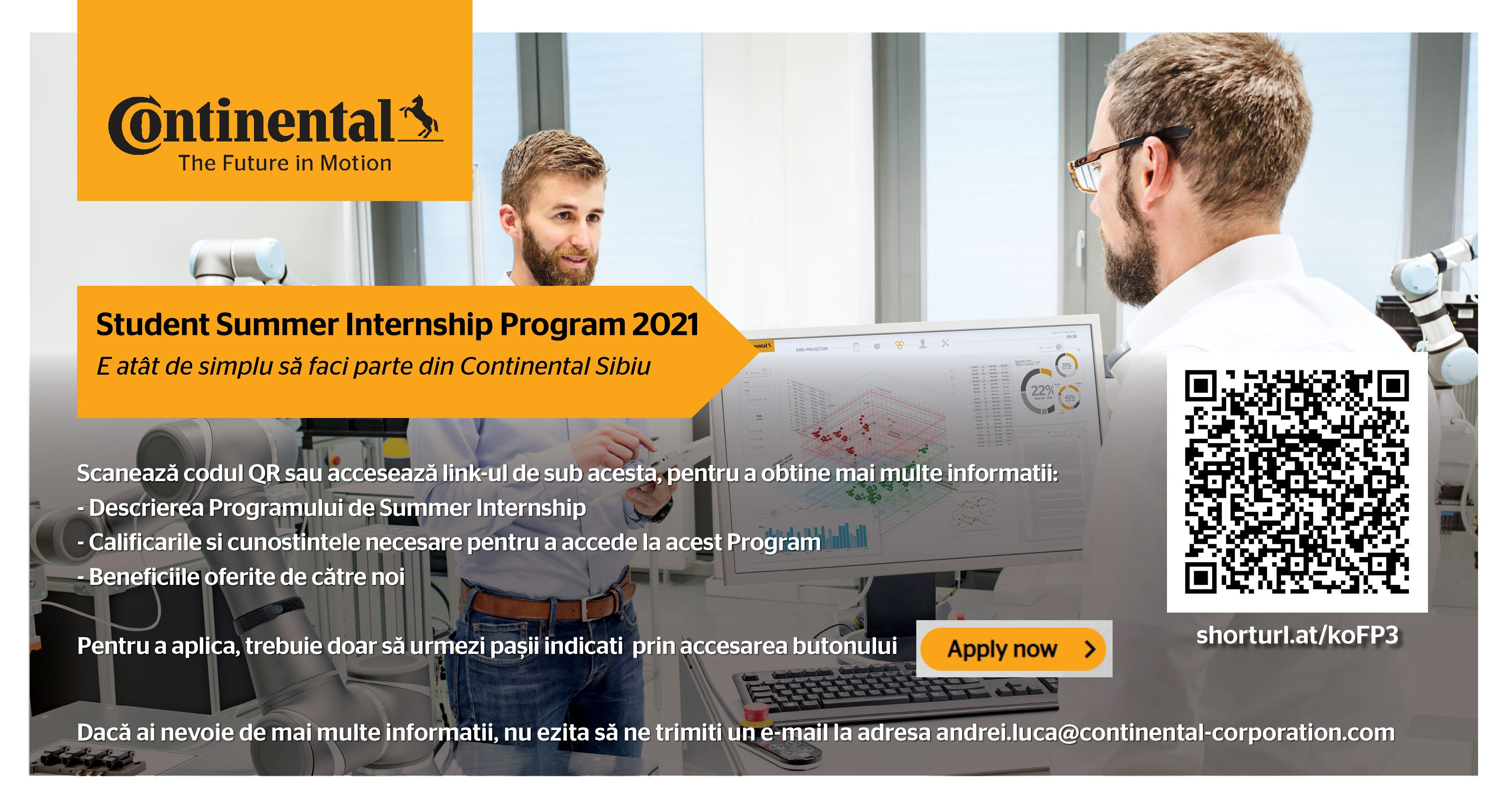 Continental Summer Internship Program 2021