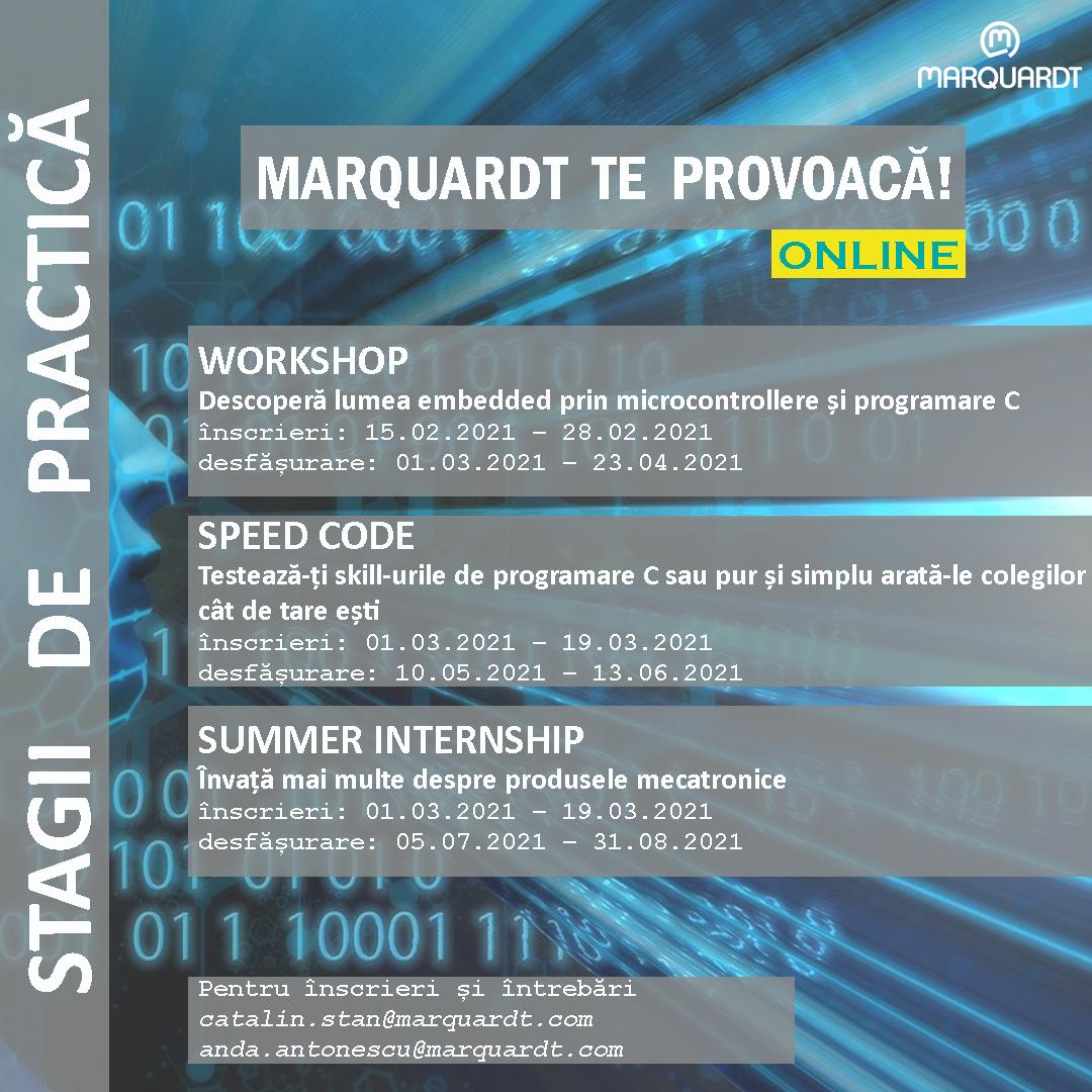Practică Studențească în Lumea Virtuală Marquardt