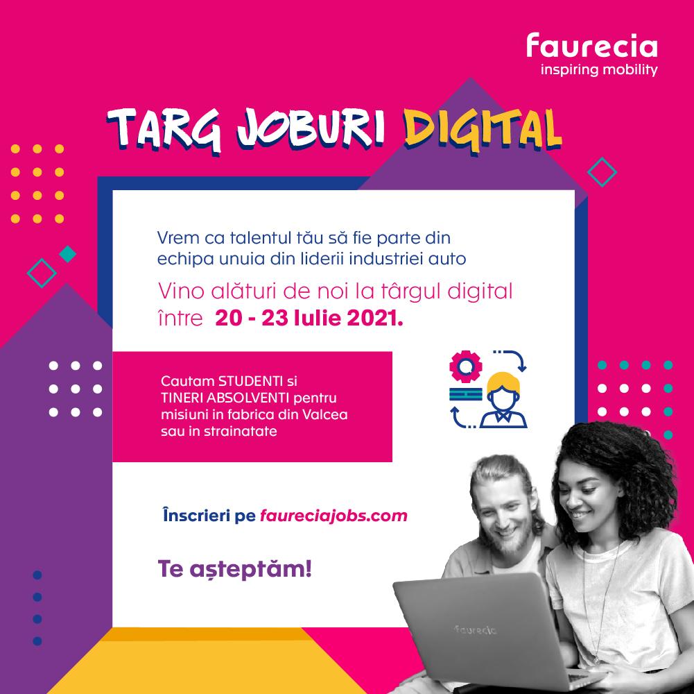 Faurecia – Târg De Joburi Digital